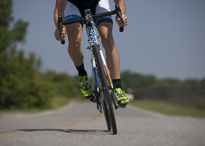 exercise bike riding