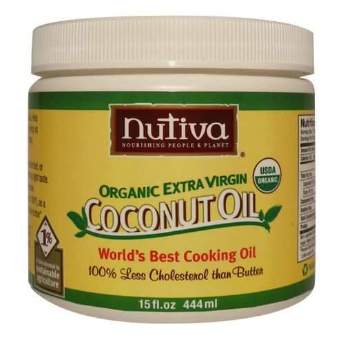 nutiva extra virgin organic coconut oil